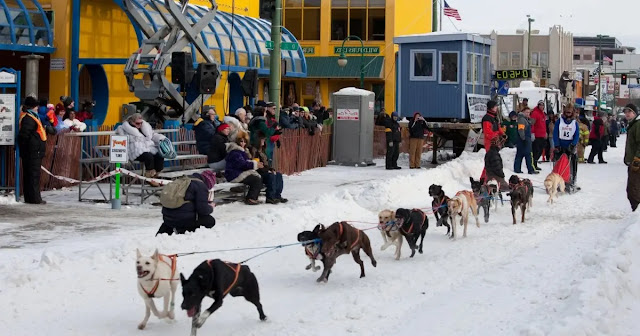 the Fur Rendezvous in Anchorage, Alaska