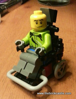 Prototype 1 LEGO Electric Wheelchair Footballer
