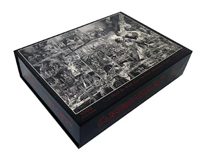 Bernie Wrightson Frankenstein Puzzle Kickstarter by Nakatomi Launches Today!