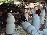 Wahana Salju yang Akan Hadir di Pekan Raya Lampung 2019, Panitia:Masih Tahap Dekor