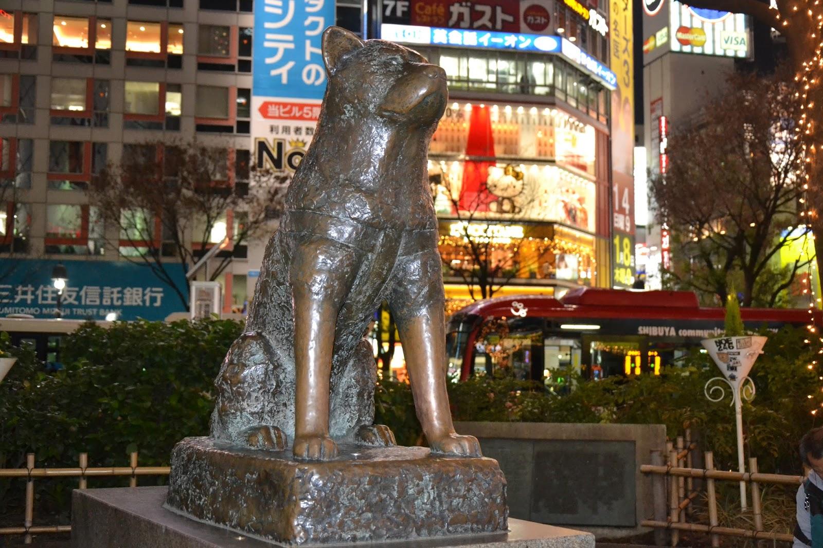 Hachiko Statue - Tokyo