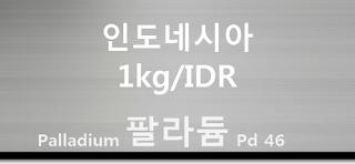 오늘 인도네시아 팔라듐 1 키로(kg) 시세 : 99.95 팔라듐 1 키로 (1Kg) 시세 실시간 그래프 (1kg/IDR 인도네시아 루피아)