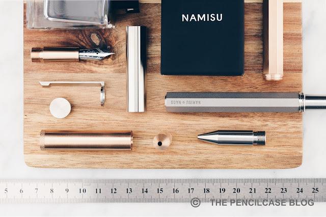 QUICK LOOK: NAMISU NAOS 2-IN-1 FOUNTAIN PEN & ROLLERBALL
