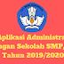 Aplikasi Administrasi Ulangan Sekolah SMP/MTs Tahun 2019/2020 - Ruang Lingkup Guru