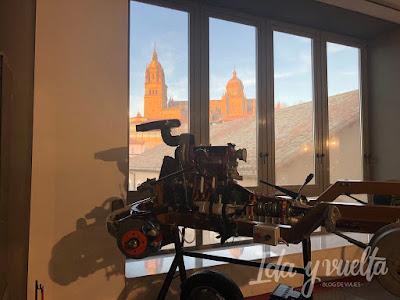 Museo de Historia de la Automoción vista Catedral