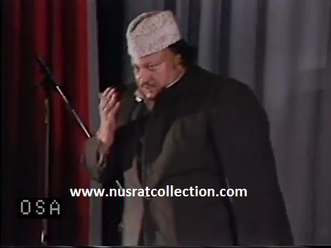 Lyrics Meri Aankhon Mein Machalte Nahi Bekaar Ansoo Qawwali by Nusrat Fateh Ali Khan