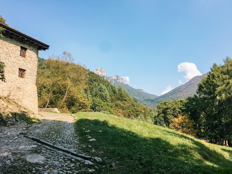 Arrivo a Prim'Alpe a Canzo
