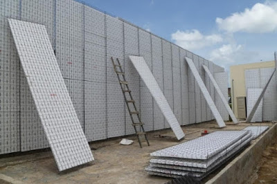 xây nhà bằng tấm panel