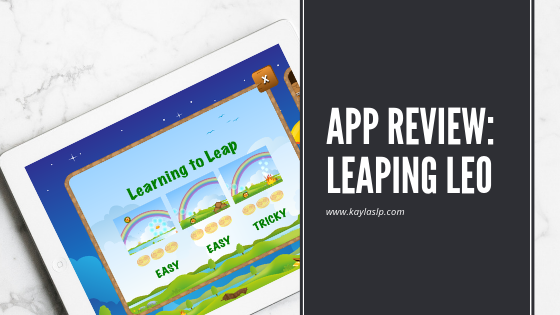 App Review: Leaping Leo