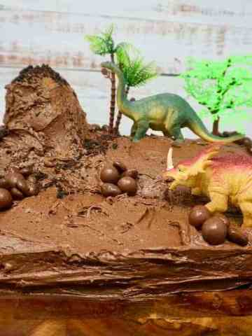 Chocolate Dinosaur Cake