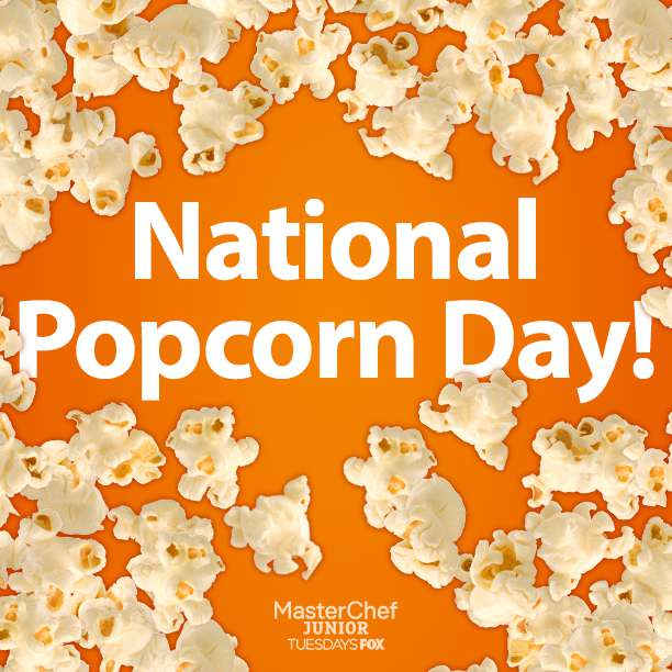 National Popcorn Day Wishes Images