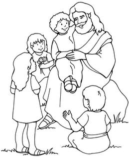 Galeria Arte Dibujos Para Colorear De Jesús