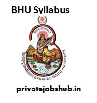 BHU Syllabus