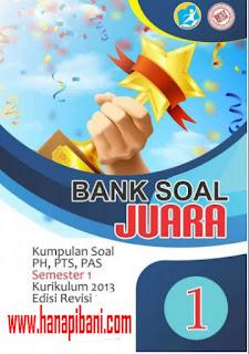 Unduh Bank Soal Kelas  1 SD/MI, Berisi Kisi-kisi dan Ribuan Soal