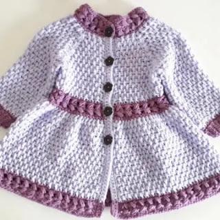 Chaqueta Bebé Springtime Crochet