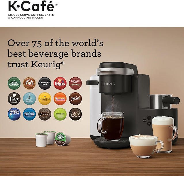 What are the new Keurig K-Café single-serve coffee