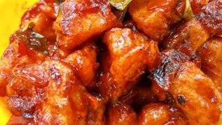 Dragon chicken recipe - Make a delicious dragon chicken at home