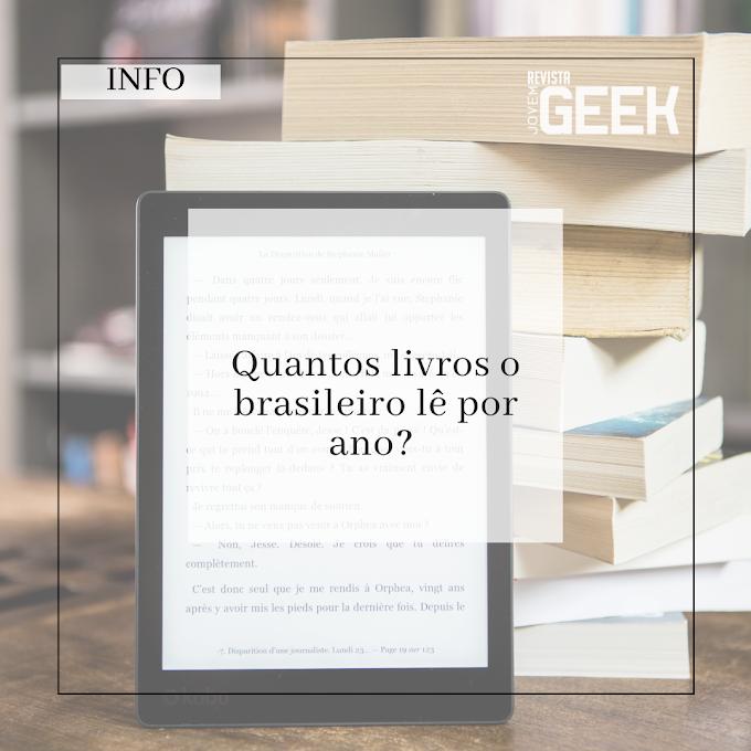 Quantos livros o brasileiro lê por ano?