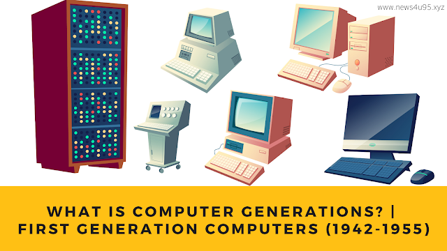 What is Computer Generations?   First Generation Computers (1942-1955)