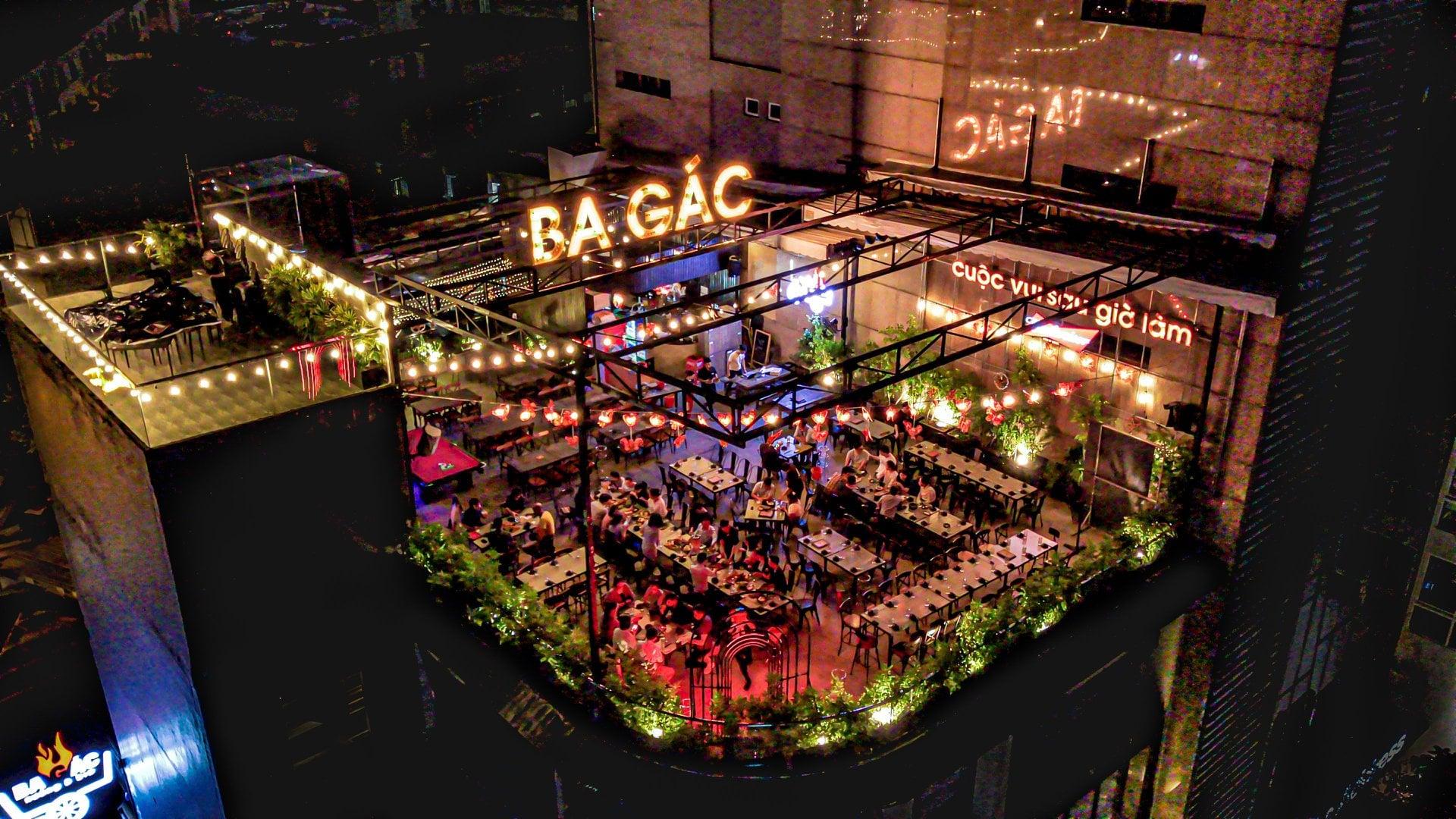 Top 10 quán beer - garden mở xuyên tết 2021 ở TPHCM