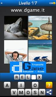 PACCHETTO 6 Soluzioni Trova la Parola - Foto Quiz con Immagini e Parole livello 17