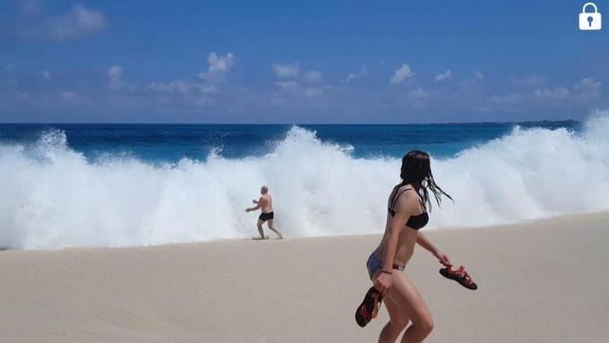 Karibian risteily, Bahama Nassau ja Paradise Island, Cabbage Beach