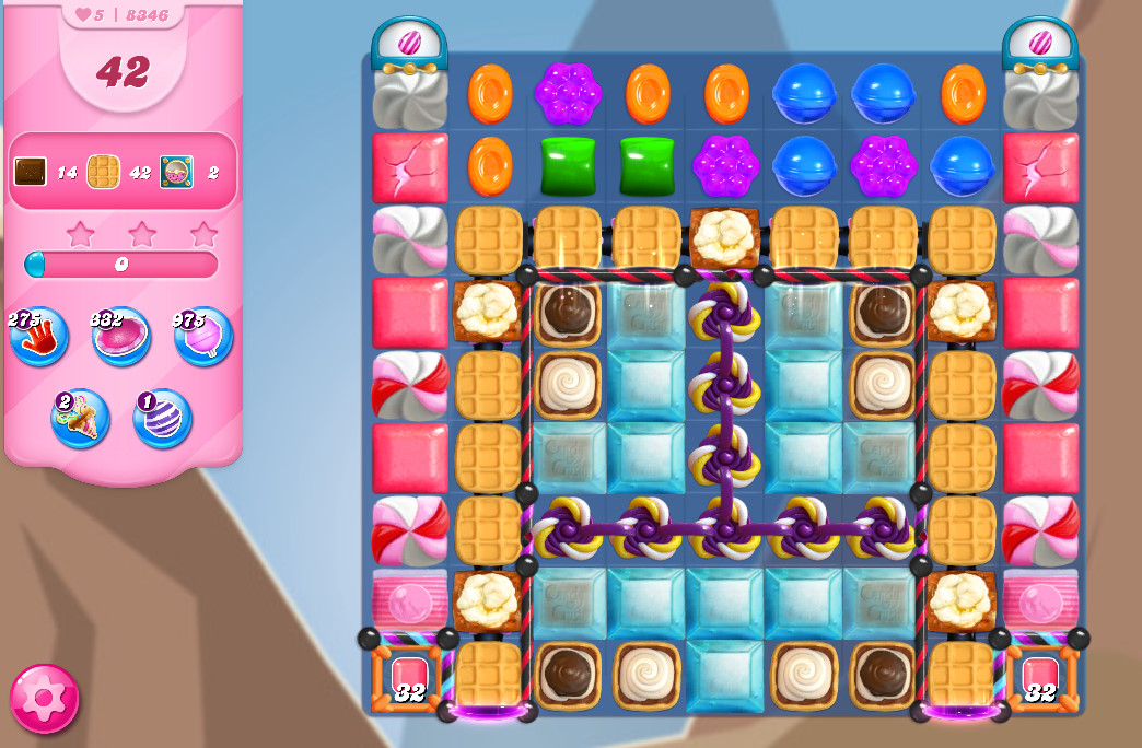 Candy Crush Saga level 8346