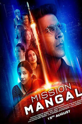 Mission Mangal (2019) Hindi Official Poster Full HD Free Download