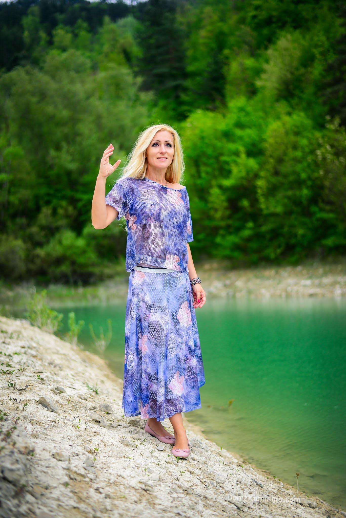 Kasia z Domu z Kamienia, blog o życiu w Toskanii, jezioro Bracanello