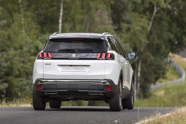 Novo Peugeot 3008 Híbrido