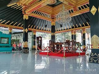 Museum di kompleks Keraton Yogyakarta