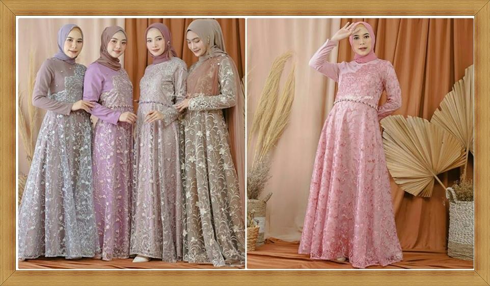 Desain Model Baju Fashion Muslim Terbaru Tahun 2021
