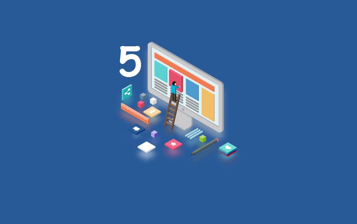 Làm 5 dự án website để trở thành lập trình viên chuyên nghiệp