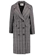 Płaszcz w kratę Zalando