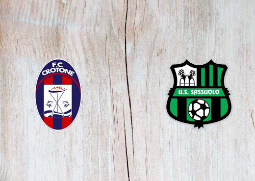 Crotone vs Sassuolo -Highlights 14 February 2021