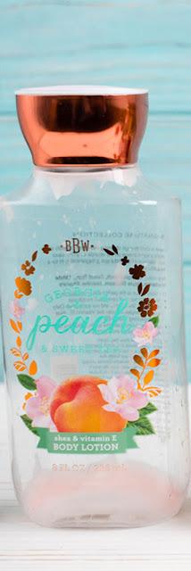 Bath and Body Works Georgia Peach& Sweet Tea
