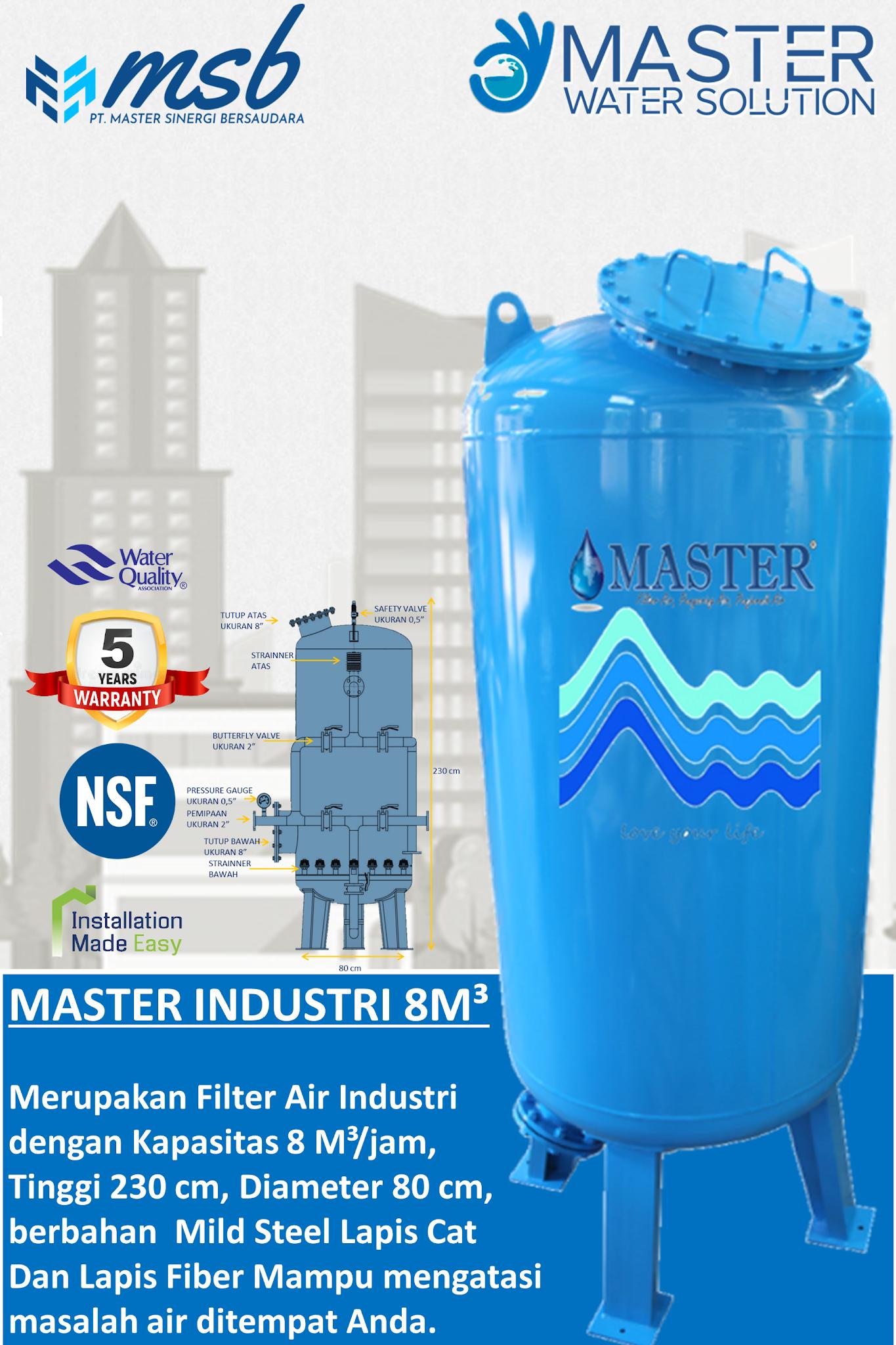 MASTER INDUSTRI 8M3³ (MI 8M)