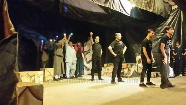 الاوباش بطولة نجوم فرقة قصر ثقافة نعمان عاشور وفرقة ميت غمر المسرحية