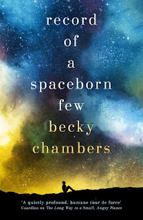 August Reading List Book Recommendations 2018 - Record of a Spaceborn Few by Becky Chambers
