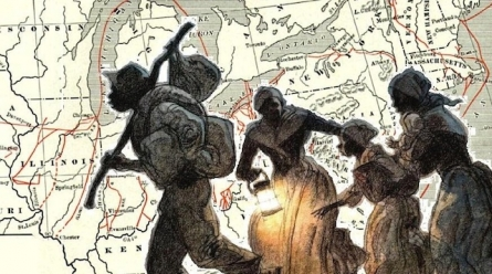 What role did African American spirituals play in the Underground Railroad?