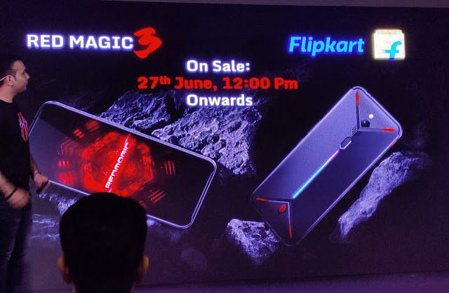 Nubia Red Magic 3 – the gaming phone launched in India at Rs. 35,999