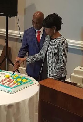 Pictures from Bishop Oyedepo birthday
