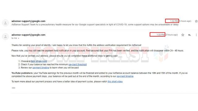 Cara Verifikasi Alamat PIN Adsense Pakai KTP