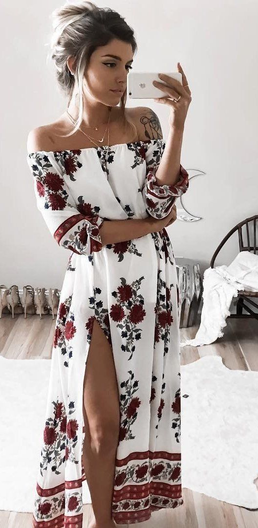 Off the Shoulder Tops & Off the Shoulder #Summer Dresses