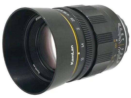 Kamlan 55mm f/1.1