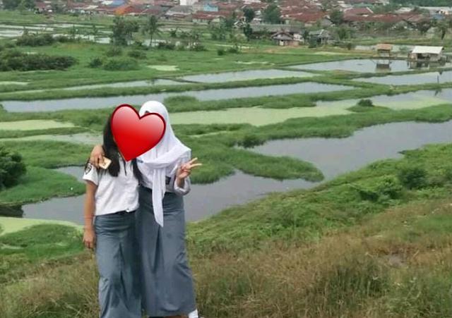Objek Spot Foto Keren Dibalik Bau Busuk TPA  Pulau Nibung Medan Marelan