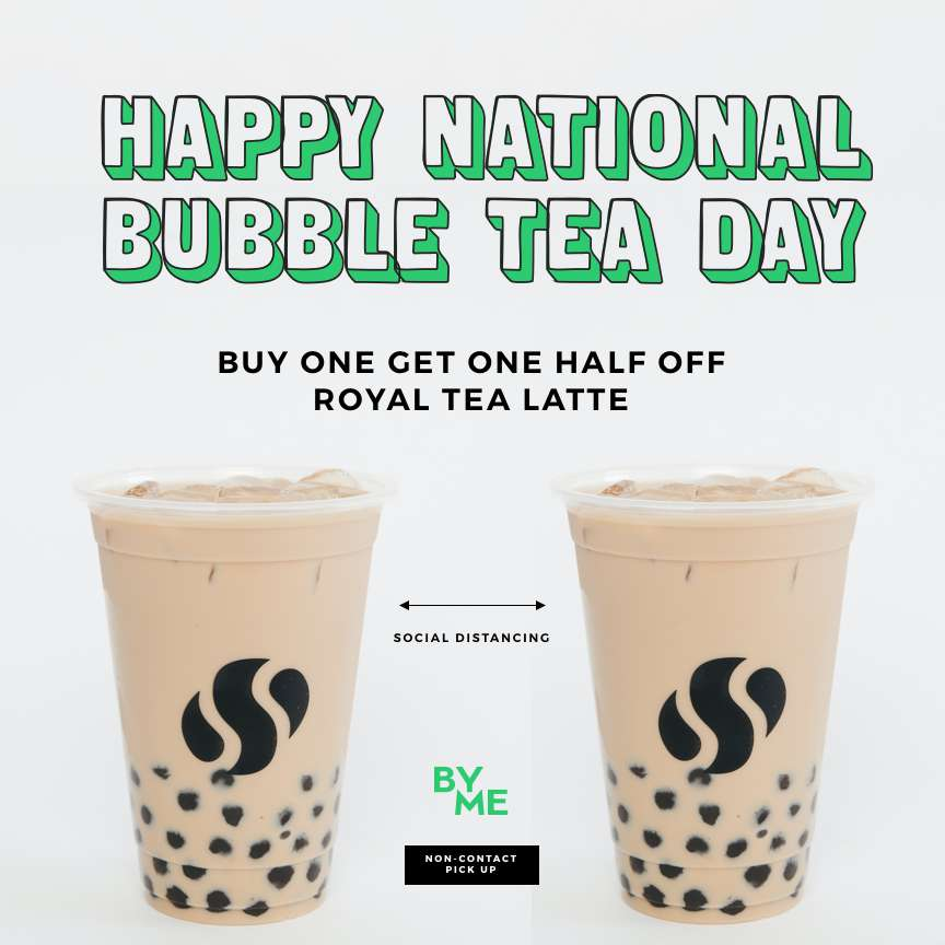 National Bubble Tea Day Wishes Images