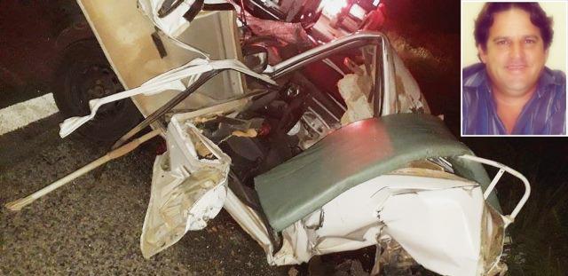Motorista de ambulância de Caetité morre em acidente na BR-030, em Guanambi