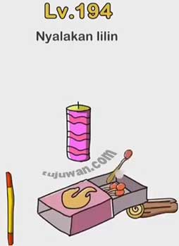 Nyalakan Lilin Brain Out Ini Jawaban Level 194
