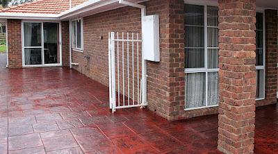 colour concrete Melbourne